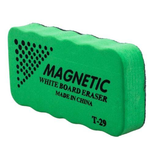 1x neue Magnettafel Radiergummi trocken abwischbaren Marker Whiteboard-Reini 1V2
