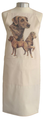 Chesapeake Bay Retriever Dog Quality Cotton Apron Double Pockets Baker Cook Gift