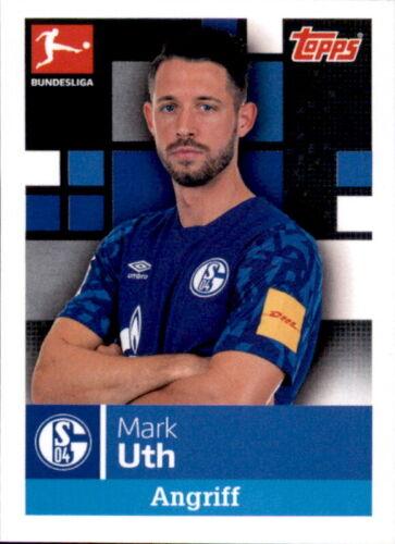 TOPPS Bundesliga 2019//2020 Mark Uth Sticker 257