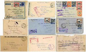 WW2-BRITISH-EAST-AFRICA-MILITARY-APO-KUT-ERTIREA-ETHIOPIA-CENSORED-AIRMAIL-etc