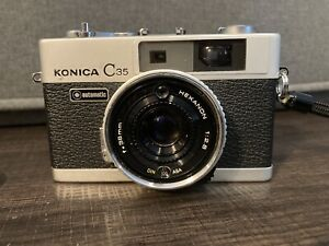 Konica C35 FD 35mm Film Rangefinder Camera [Excellent
