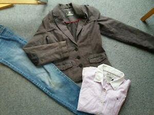 Details zu TOP SET * Marke s'Oliver Hilfinger * Gr. 152 * Jacke Bluse Jeans * TOP!