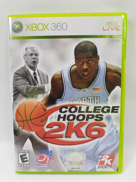 College Hoops 2K6 - Microsoft Xbox 360 - Mint  Condition - See Pics
