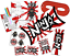 thumbnail 1 - Pre Filled Ninja Warrior Party Box - Karate MMA Camouflage Parties Gift Bags