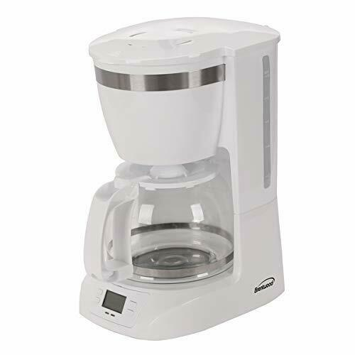 Brentwood Appliances Ts-219w 10-cup Digital Coffee Maker [white] (ts219w)