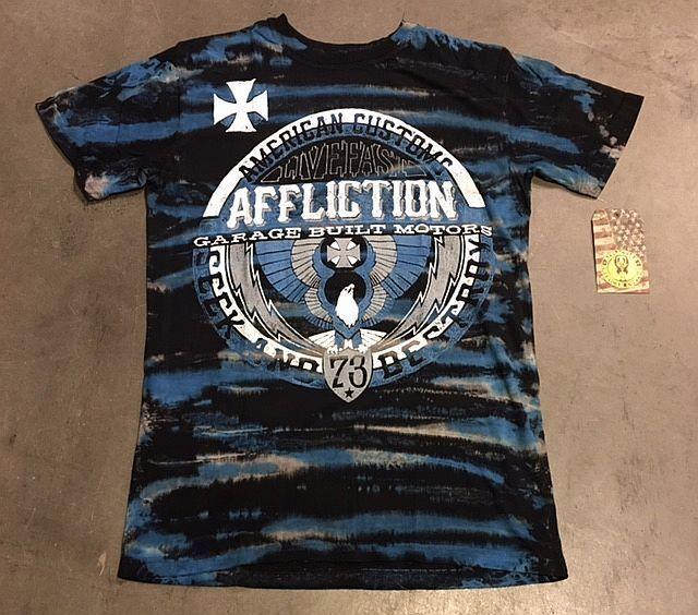 ORIGINAL AFFLICTION SHIRT T-Shirt   a347   BUILDERS UNION    | Verwendet in der Haltbarkeit