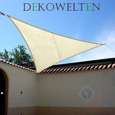 LUXUS Sonnensegel d. Extraklasse Sonnenschutz Regenschutz wasserdicht windschutz