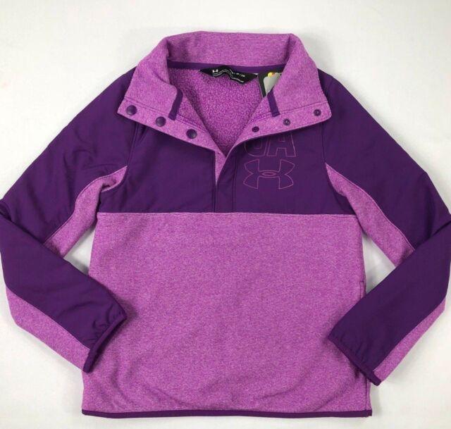 075d0771ae Under Armour ColdGear Youth Little Girls Warm Purple Jacket Size YSM 8