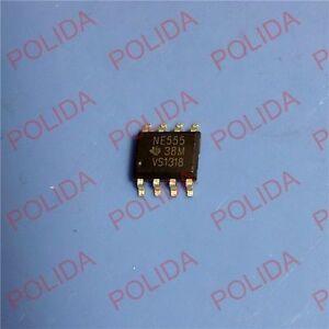 50PCS TIMERS IC TI SOP-8 NE555DR NE555D NE555