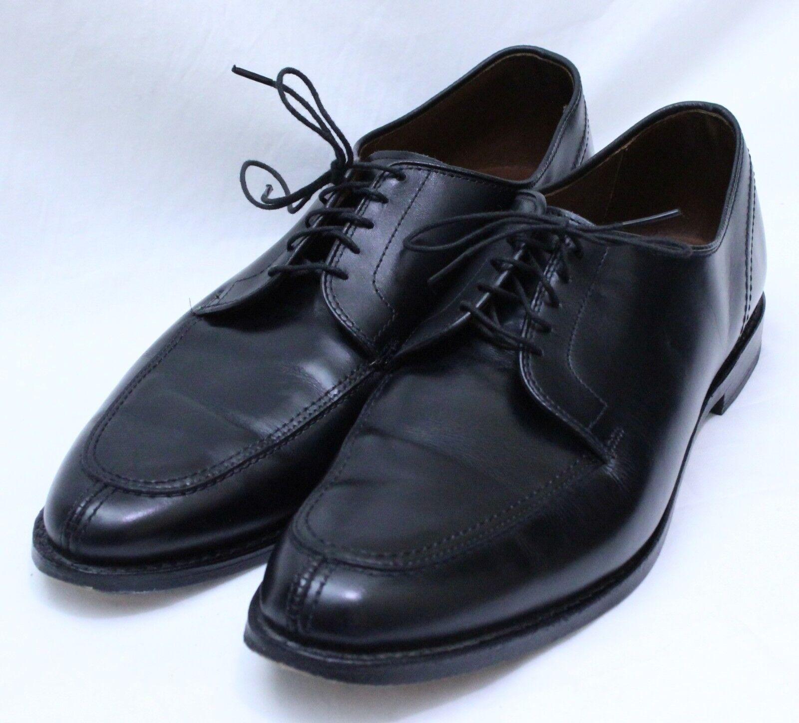Allen Edmonds LaSalle Split-Toe Oxfords Black 11B  350 4308