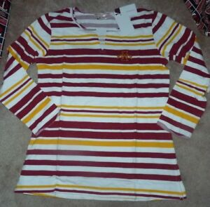 Details about NEW NCAA Iowa St State Cyclones L/S Tailgate Gameday Shirt  Women M -PLUS - NWT
