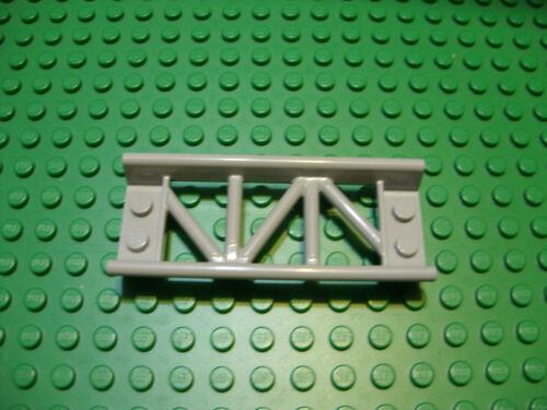 Lego NEW light bluish gray roller coaster track short straight 8L