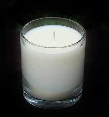 40hr PATCHOULI FRANKINCENSE /& VANILLA Triple Scented Organic SOY WAX Jar CANDLE