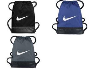 d4eee1256fa0 Image is loading Various-Nike-Brasilia-Drawstring-Gym-Bag-School-Backpack-