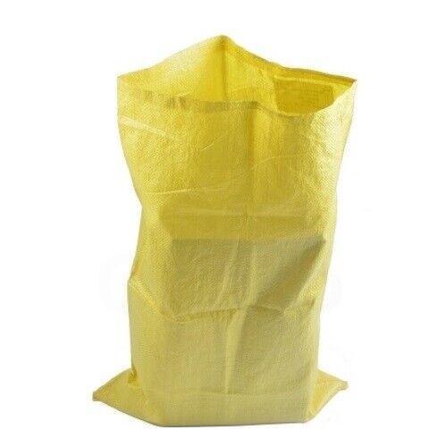Pp gewebesäcke cereales saco laubsack saco bolsa tamaño//color a elegir entre sacos de arena