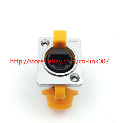 RJ45 Ethernet Connector Waterproof RJ45 Socket IP65 Industrial Ethernet Plug