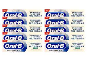 10x-Oral-B-Professional-Zahnfleisch-amp-Zahnschmelz-Pro-Repair-extra-frisch-75-ml