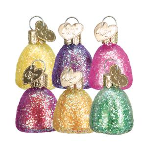 034-Gum-Drops-034-Set-of-6-32090-X-Old-World-Christmas-Glass-Ornament-w-OWC-Box