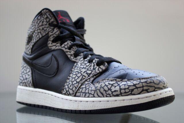 Air Jordan Retro 1 Premium Elephant Print GS Nike Basketball 838850 013 Size 7Y