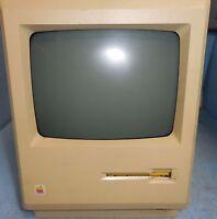 Vintage Apple Macintosh Plus 1MB M0001A Desktop Computer