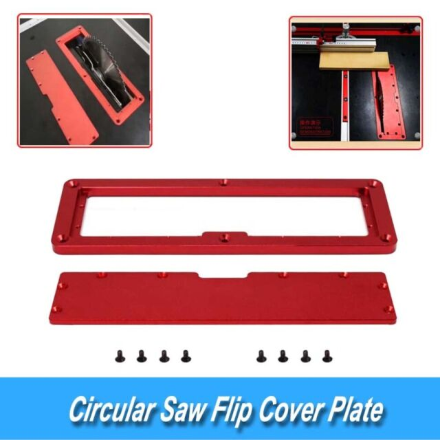 High Quality Portable Electric Circular Saw Flip Cover Plate Suit for Work Bench