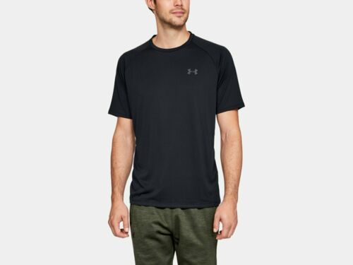 Under Armour Men/'s UA Tech 2.0 Short Sleeve Shirt 1326413 Black