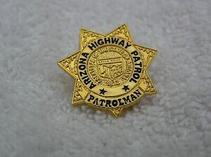 ARIZONA HIGHWAY PATROL POLICE  LAPEL BADGE PIN