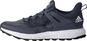 Adidas Crossknit Boost Golf Shoes Q44862 Mid Grey/White Mens New