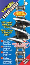 Motocross Motorcycle ATV Bike Fast & Easy Use CHAIN CLEANER 360° BRUSH NEW