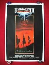 HALLOWEEN 3 III * 1982 ORIGINAL MOVIE POSTER 1SH ROLLED SEASON OF THE WITCH MASK