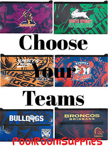 CHOOSE-Your-QUALITY-LARGE-NRL-Team-Pencil-Case-for-School-Work-stationary