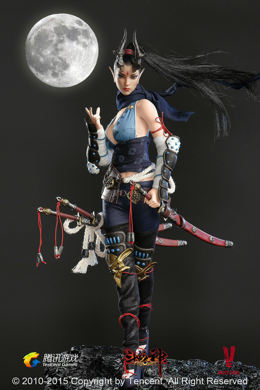 1 6 Very Cool Toys DZS-002 Dou Zhan Shen Series Lady Dragon in the Moonlight