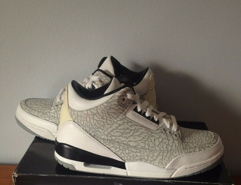 Nike Air Jordan Cement Flip 3 Mens Size 8! III