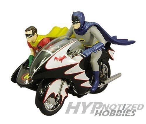 1 12 Hot Wheels Elite Batman Batcycle Klassisch Tv Serien Cmc85    Online einkaufen