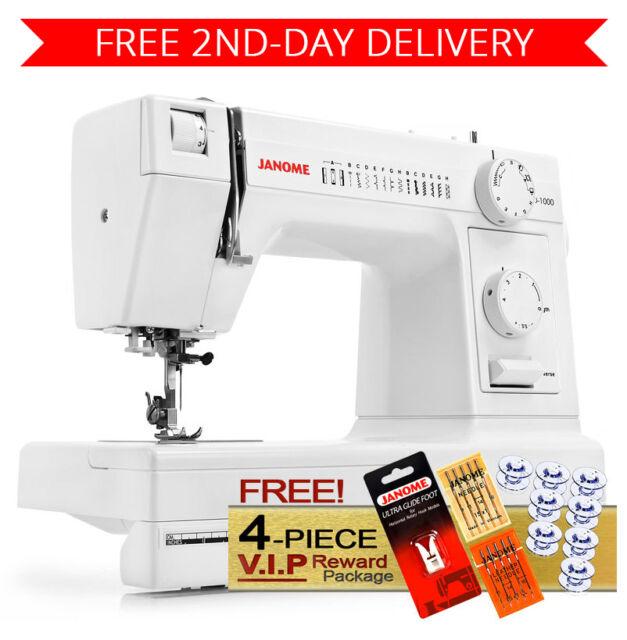 Janome Hd40 Heavyduty Sewing Machine With 40 Builtin Stitches EBay Amazing Ebay Com Sewing Machines