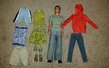 Ken Doll and Wardrobe