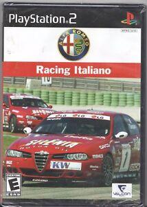 Video Game Sony Playstation 2 Ps2 Alfa Romeo Racing Italiano