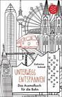 Unterwegs entspannen. Das Ausmalbuch für die Bahn von Katharina Schmidt (2016, Gebundene Ausgabe)