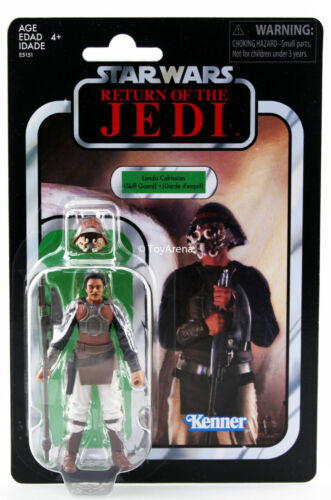 "Star Wars Return of the Jedi Lando Calrissian Skiff Guard 3.75/"" TVC Exclusive US"