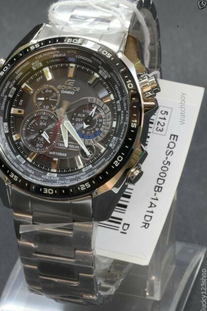 1caf3c8d8ed Casio Edifice EQS500DB-1A1 Wrist Watch for Men for sale online