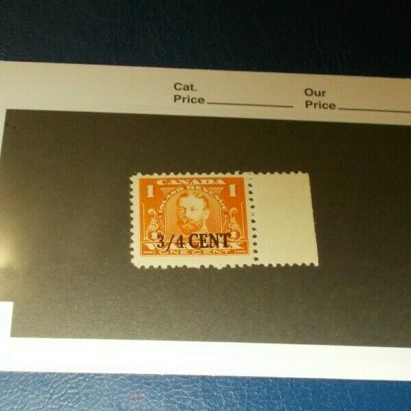 Canada Stamp Back Of Book Mint Never Hinged Overprint Excise FX 30 Revenue et-2