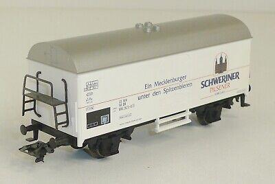 """Märklin H0 4418 Bierwagen /""""Schweriner Pilsener/"""" OVP"""