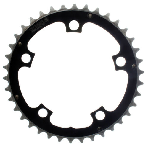 Origin-8 Alloy Ramped Chainrings Chainring Or8 110mm 38t Bk//sl