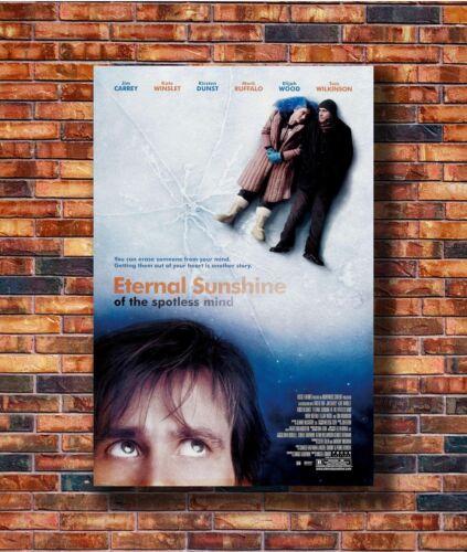 Art ETERNAL SUNSHINE OF THE SPOTLESS MIND Movie Jim Carrey Poster Hot Gift C869