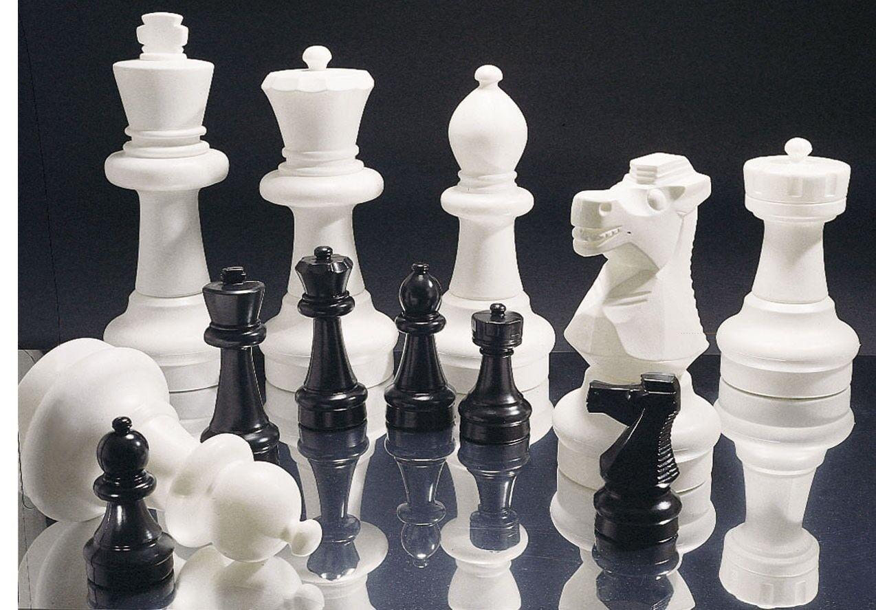 Basic Basic Basic Garden Chess Pieces - Chessmen c0585f