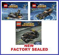 Lego Super Heroes Dc Batman Minifig Jetski 30160 Batmobile 30161 Tumbler 30300