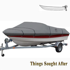 LUNEX RS-1 TRAILERABLE MOORING COVER for 12' 13' or 14' foot V-Hull Fishing Boat