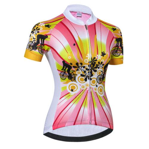 2019 Pro Team Damen Weimostar Radtrikot Frauen Fahrradbekleidung Bekleidung Tops