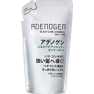 SHISEIDO Adenogen Scalp Care Shampoo Oily Type (for Oily Scalp) 310ml Refill