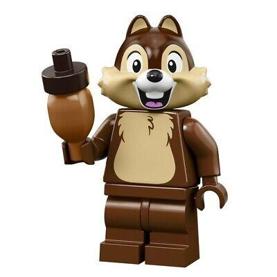 LEGO FIGURINE  MINIFIGURINE DISNEY SERIE 2 71024 N° 7 TIC CHIP AVEC NEZ NOIR